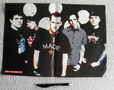 GOOD CHARLOTTE JOEL BENJI MADDEN BROTHERS POSTER POP PUNK Free Post