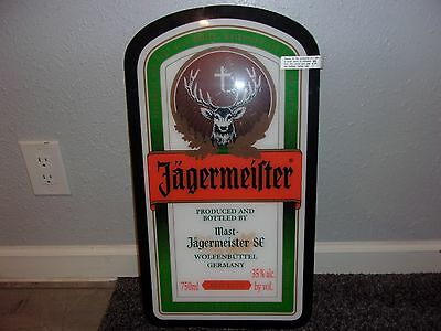 """Jagermeister Led Lighted Sign """"24X13"""" New"""