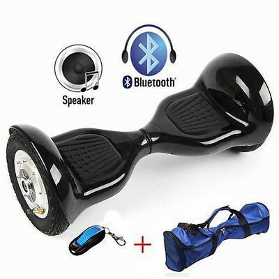 "Black 10"" Hoverboard Swegway Electric Self Balance Hover Board CE BS Approved"