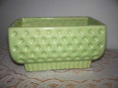 Shawnee Pottery Vintage DIMPLED PLANTER OBLONG