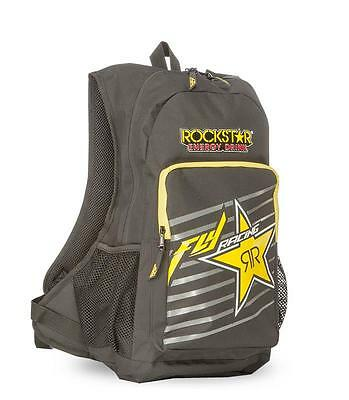 "New 2017 Fly Racing ""jump Rockstar"" Backpack - Black/yellow - 100% Genuine New"