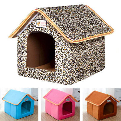 Newly Pet House Candy Colors Dog Kennel Cat Sleep Bed Cushion Anti-Slip Bottom