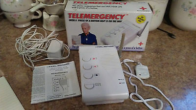 Telemergency Pro 700B with Help Pendant Emergency 911 Phone Dialer Caller System
