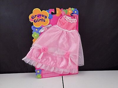 GROOVY GIRLS groovy fasion EVER AFTER PRINCESS GOWN new (B 4)