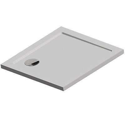 Get Wet by Sealskin Fusion Built-in Bath Shower Tray Water Drainage 60431207010