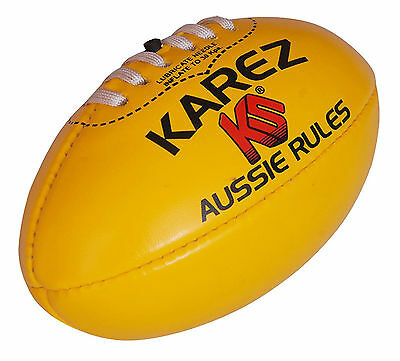 Karez PVC Hand Stitch 2 Ply Training Rugby Ball For Kids 4 Panel