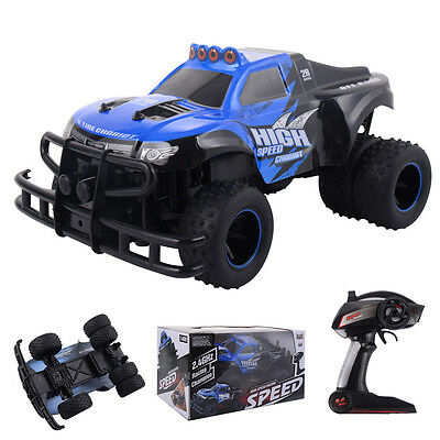2.4G 1/10 High Speed Radio Remote Control RC Racing Car Off-Road Truck Monster