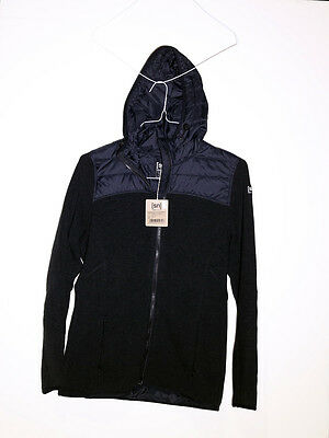 Super.Natural Combustion Cloud Hoodie - Womens Size XS - Caviar- Black W00211001