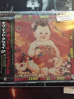 Red Hot Chilli Peppers Give It Away Japanese Import CD