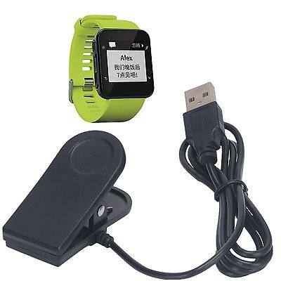 USB Charging Sync Data Cable Clip Cradle Charger For Garmin Forerunner 35 Watch