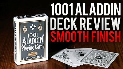 Aladdin 1001 White Deck Of Playing Cards By Uspcc Bicycle Magic Tricks Collector