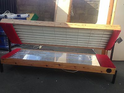 16T 4Tfacial Pine 100watt sunbed 01740655557 for del £ most of uk 10283