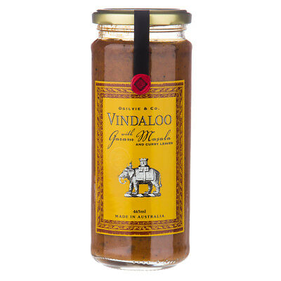 NEW Ogilvie & Co. Vindaloo with Garam Masala 465ml