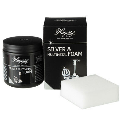 NEW Hagerty Silver & Multi Metal Foam