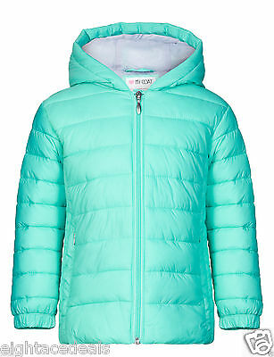 GIRLS coat from M&S pretty green lightweight jacket 4-5 years PRICE TAG £20