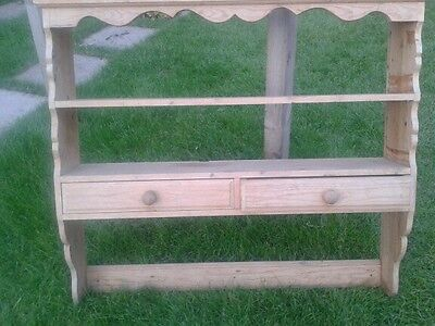 Solid Pine Dresser Top With  Drawers    ...SHABBY CHIC ...PROJECT ..STUNNING