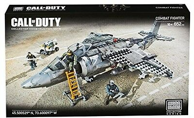 Mega Bloks Collector Series - Call Of Duty Strike Fighter Plane - Building Set
