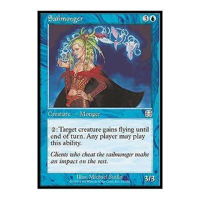Négociante en voiles Masques de Mercadia n°95  (Français) MTG Magic NM