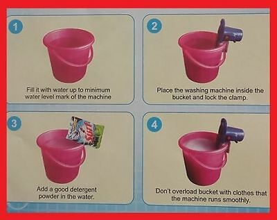 New Portable Hand Washing Clothesmachine Family,pg Students Bachelor Bigwonder