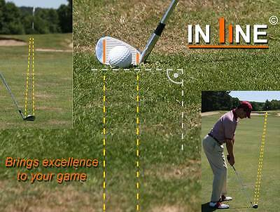 WELTNEUHEIT!!! - IN LINE - www.inline-golf.com - BRINGS EXCELLENCE TO YOUR GAME!