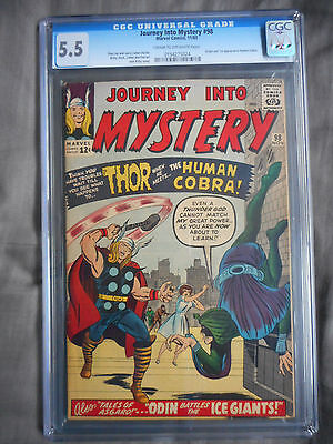 Journey Into Mystery #98 and #101 CGC PGX 1st Cobra 1st Tommorow Man