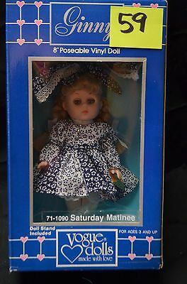 Vintage Saturday Matinee Ginny Doll 1987 - New in Box