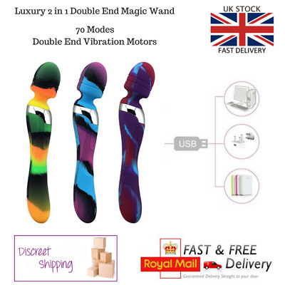 Premium Magic Wand Massager vibrate USB Rechargeable 9 Speed 3 Colours Available