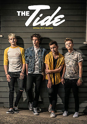 The Tide Official Calendar A3 2017 - BRAND NEW (SKU 142)