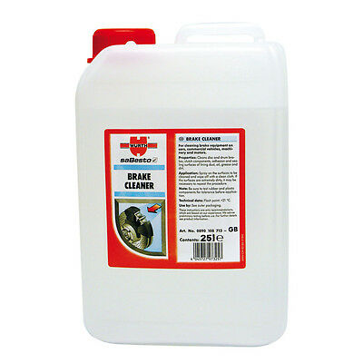 Genuine Wurth Brake Cleaner 25 Litres Container Degreaser Dust Grease 25L