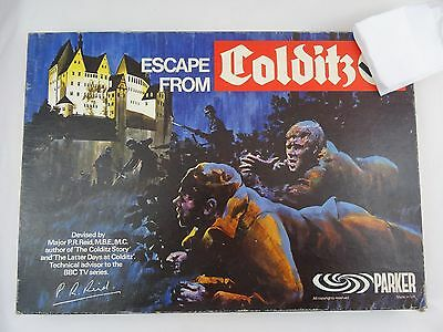 Vintage Escape From Colditz Board Game by Parker Complete