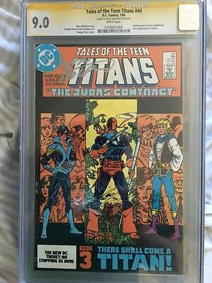 Tales of the Teen Titans #44 CGC 9.4 - 1st Nightwing and Origin of Deathstroke