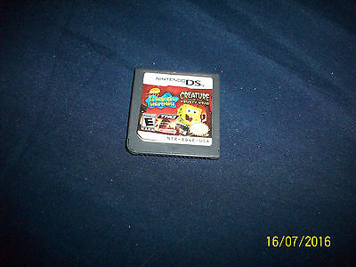 Nintendo Gameboy DS Creature from the Krusty Crab works Spongbob Squrepants