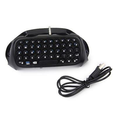 Mini Clavier Bluetooth sans fil Messager Keyboard pour Manette Sony PS4 Accs