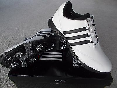 Mens Golf Shoes Adidas Golflite 3 White Waterproof Uk9.5 Eu44 Leather 670485