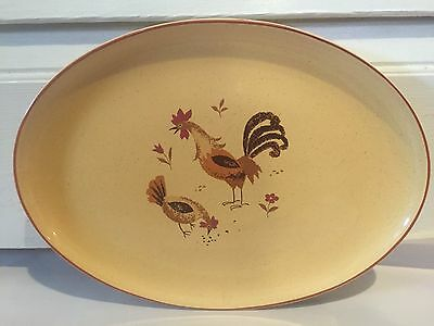 HARMONY HOUSE/SEARS HONEY HEN 4555 Serving Platter replacement -Rooster,Chicken