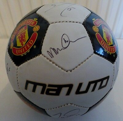Signed Manchester United Football From Circa 2004