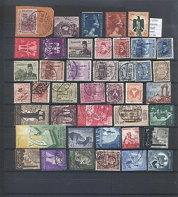 Stamps Lot Egypt Used  (L12209)
