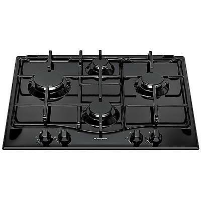 Hotpoint Newstyle GC640BK 60cm Built-in Gas Hob with FSD - Black