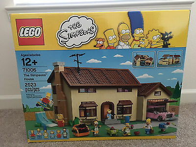 LEGO The Simpsons House (71006) - New Sealed