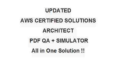 Amazon AWS Certified Solutions Architect Associate Exam Test QA PDF&Simulator