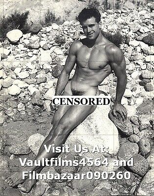 "ED FURY - GAY INTEREST - 1950's Physic Art Homotography 10"" x 8"" Photo  #3327"