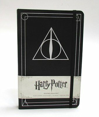Harry Potter Deathly Hallows Hardcover Ruled Notebook