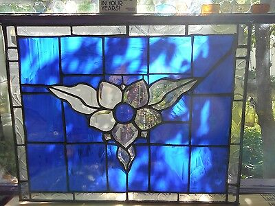 Stained Glass Window Panel Suncatcher
