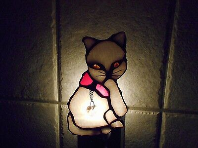 Stained Glass Window Panel Suncatcher  Night Light