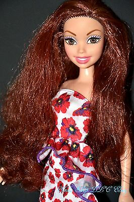 RARE PRETTY SMILING REDHEAD MY SCENE BARBIE DOLL with OUTFIT