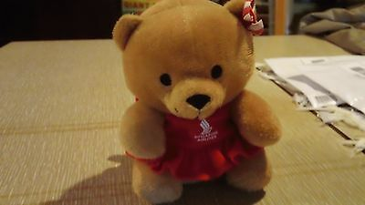 SINGAPORE AIRLINES Signature Teddy Bear Girl Toy Collectible