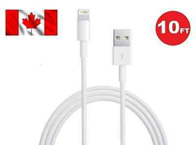 One 10FT 3M 8 Pin USB Data Sync Charger Cable Cord For iPhone 5 5C iPhone 6 6S 7