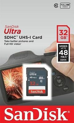 32GB SDHC MEMORY CARD FOR PANASONIC FUJI CANON NIKON DIGITAL CAMERA SD Card UK