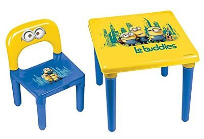 Minions My First Activity Childrens Table and Chair Official Preschool Childs De