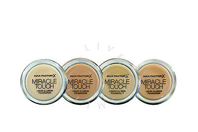 Max Factor  Miracle Touch Foundation - Choose Shade - | Rrp £11.99 |